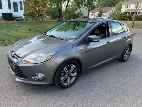 2012 Ford Focus for sale at Via Roma Auto Sales in Columbus OH