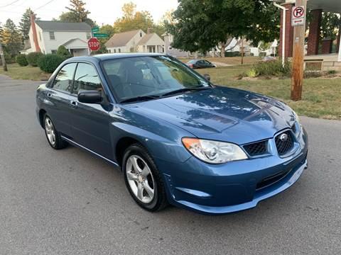 2007 Subaru Impreza for sale at Via Roma Auto Sales in Columbus OH