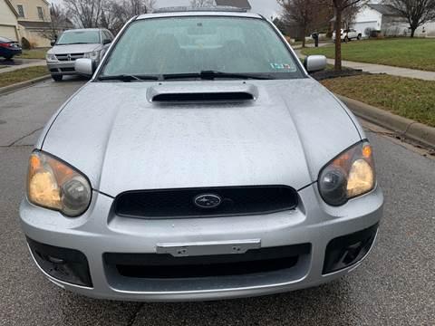 2004 Subaru Impreza for sale at Via Roma Auto Sales in Columbus OH