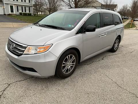 2012 Honda Odyssey for sale at Via Roma Auto Sales in Columbus OH