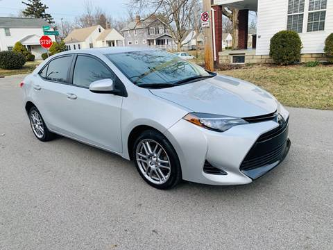 2017 Toyota Corolla for sale at Via Roma Auto Sales in Columbus OH