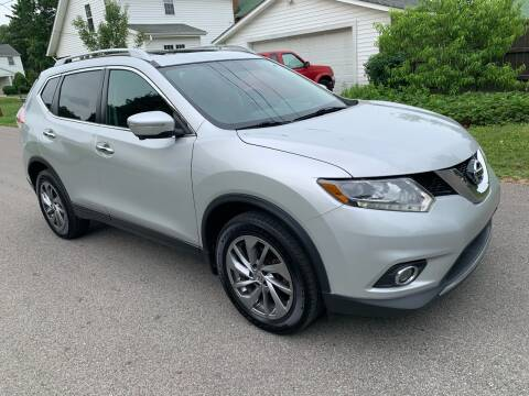 2015 Nissan Rogue for sale at Via Roma Auto Sales in Columbus OH