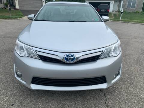 2012 Toyota Camry Hybrid for sale at Via Roma Auto Sales in Columbus OH