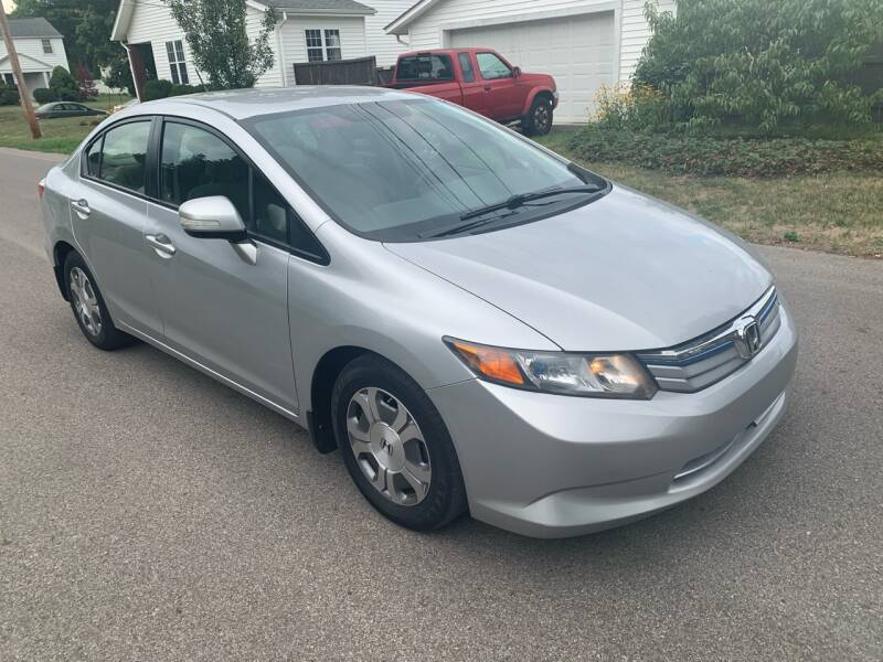 2012 Honda Civic for sale at Via Roma Auto Sales in Columbus OH
