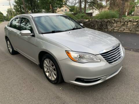 2012 Chrysler 200 for sale at Via Roma Auto Sales in Columbus OH