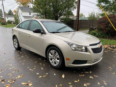 2014 Chevrolet Cruze for sale at Via Roma Auto Sales in Columbus OH