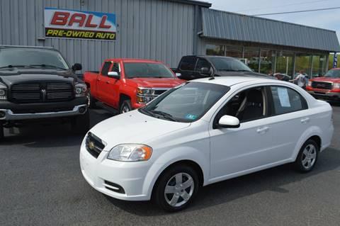 2011 Chevrolet Aveo for sale in Terra Alta, WV
