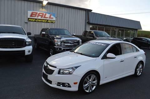 2013 Chevrolet Cruze for sale in Terra Alta, WV