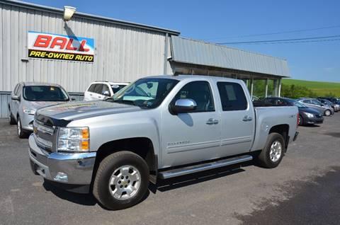 2013 Chevrolet Silverado 1500 for sale at Ball Pre-owned Auto in Terra Alta WV