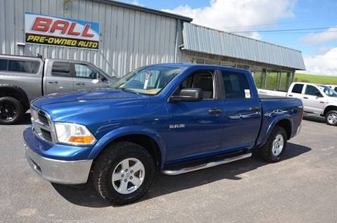 2009 Dodge Ram Pickup 1500 for sale at Ball Pre-owned Auto in Terra Alta WV