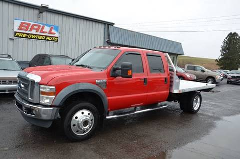 2008 Ford F-550 Super Duty for sale at Ball Pre-owned Auto in Terra Alta WV