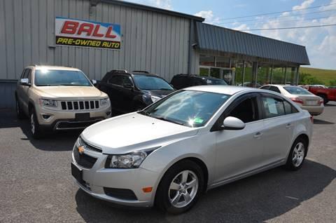 2012 Chevrolet Cruze for sale in Terra Alta, WV