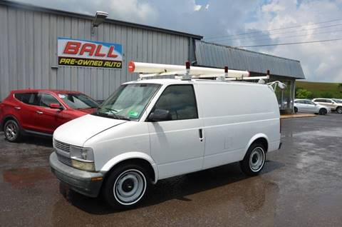 2000 Chevrolet Astro Cargo for sale in Terra Alta, WV