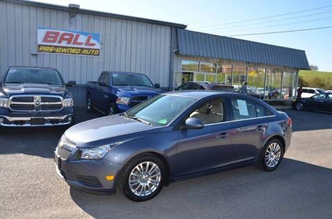 2014 Chevrolet Cruze for sale in Terra Alta, WV
