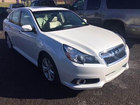2013 Subaru Legacy for sale in Terra Alta, WV