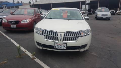 2012 Lincoln MKZ Hybrid for sale in Redlands, CA