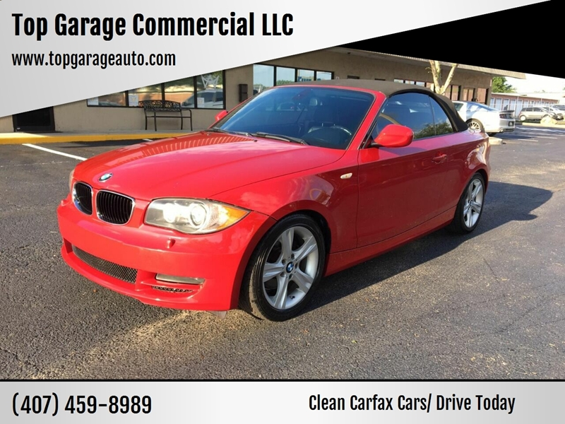 2010 Bmw 1 Series 128i 2dr Convertible SULEV In Ocoee FL