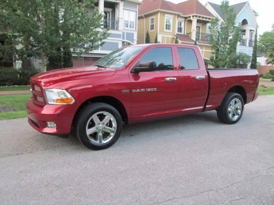 2012 RAM Ram Pickup 1500 for sale at Frontline Select in Houston TX