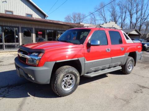 2002 Chevrolet Avalanche 2500 for sale at COUNTRYSIDE AUTO INC in Austin MN
