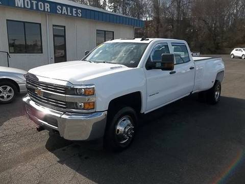 2016 Chevrolet Silverado 3500HD Work Truck for sale at MINK MOTOR SALES INC in Galax VA
