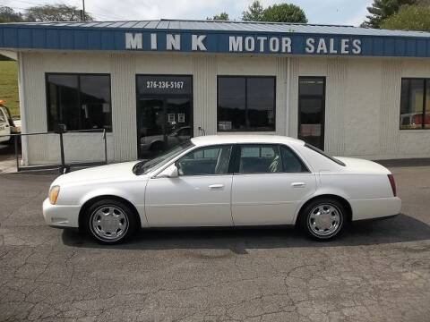 2000 Cadillac DeVille for sale at MINK MOTOR SALES INC in Galax VA