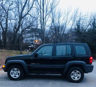 2003 Jeep Liberty for sale in Manchester, NH