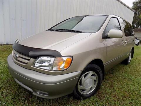 2002 Toyota Sienna for sale in Pinellas Park, FL