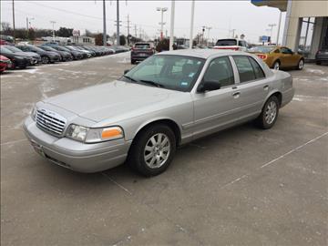 2008 Ford Crown Victoria for sale in Wichita Falls, TX