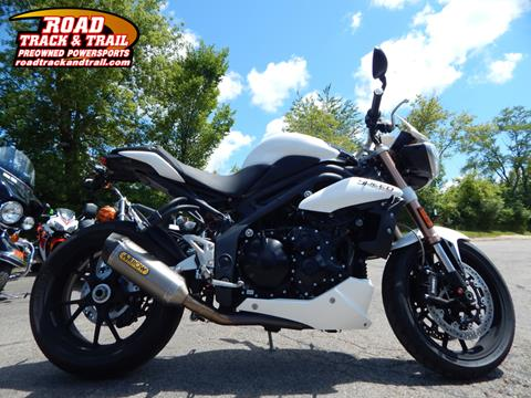 2011 Triumph Speed Triple ABS for sale in Big Bend, WI
