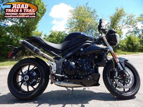 2014 Triumph Speed Triple ABS for sale in Big Bend, WI