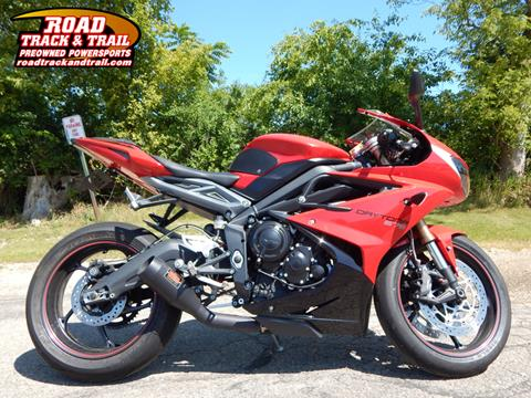 2015 Triumph Daytona 675 ABS for sale in Big Bend, WI
