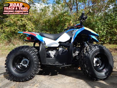 2016 Polaris Outlaw® 50 Voodoo Blue for sale in Big Bend, WI