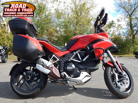 2013 Ducati Multistrada 1200 S Touring for sale in Big Bend, WI