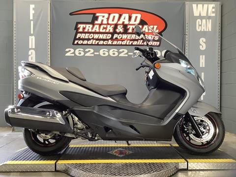 2013 Suzuki Burgman for sale in Big Bend, WI