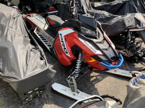 2016 Polaris 800 PRO-RMK® 163 for sale at Road Track and Trail in Big Bend WI