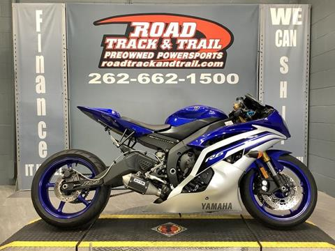 2016 Yamaha YZF-R6 for sale in Big Bend, WI
