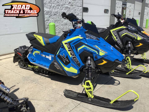 2018 Polaris 800 RUSH® PRO-X™ 12 for sale at Road Track and Trail in Big Bend WI