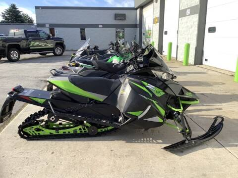 2018 Arctic Cat ZR 6000 ES (137) for sale at Road Track and Trail in Big Bend WI