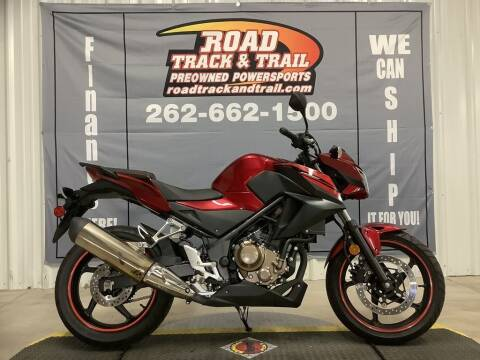 2018 Honda CB300F for sale at Road Track and Trail in Big Bend WI