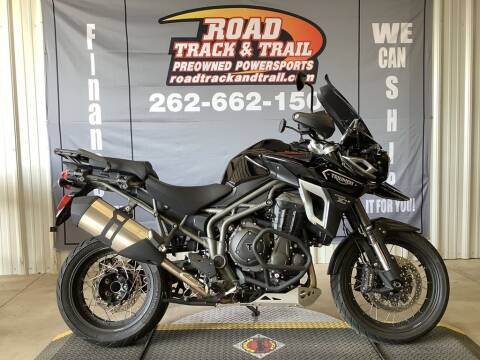 2017 Triumph Tiger Explorer XCX JetBl for sale at Road Track and Trail in Big Bend WI