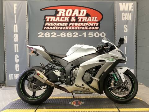 2017 Kawasaki Ninja ZX-10R for sale at Road Track and Trail in Big Bend WI