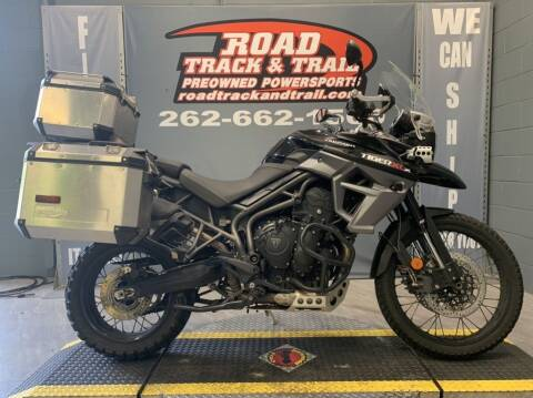 2015 Triumph Tiger 800 XCx for sale at Road Track and Trail in Big Bend WI