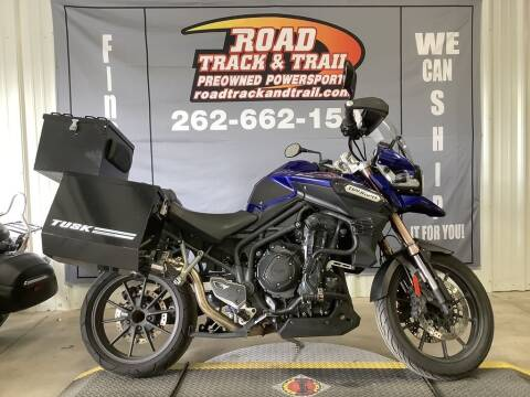 2013 Triumph Tiger Explorer Standard for sale at Road Track and Trail in Big Bend WI