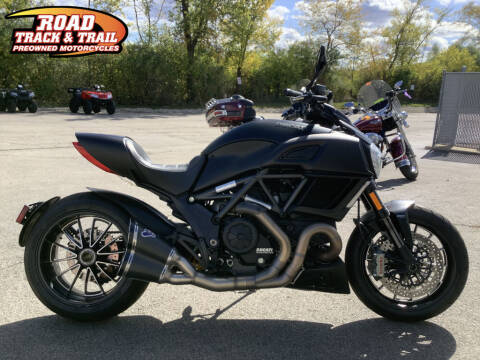 2016 Ducati Diavel Dark Stealth for sale at Road Track and Trail in Big Bend WI