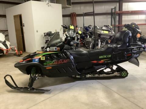 2000 Arctic Cat TRIPLE TOURING 600 for sale at Road Track and Trail in Big Bend WI
