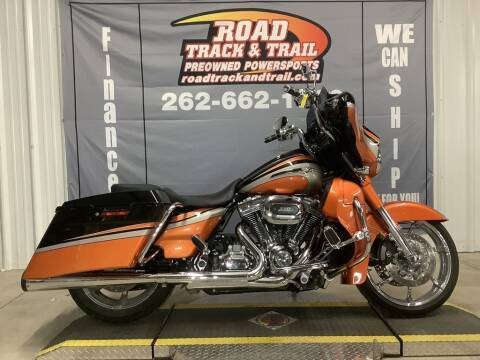 2011 Harley-Davidson® FLHXSE2 - CVO™ Street Gl for sale at Road Track and Trail in Big Bend WI
