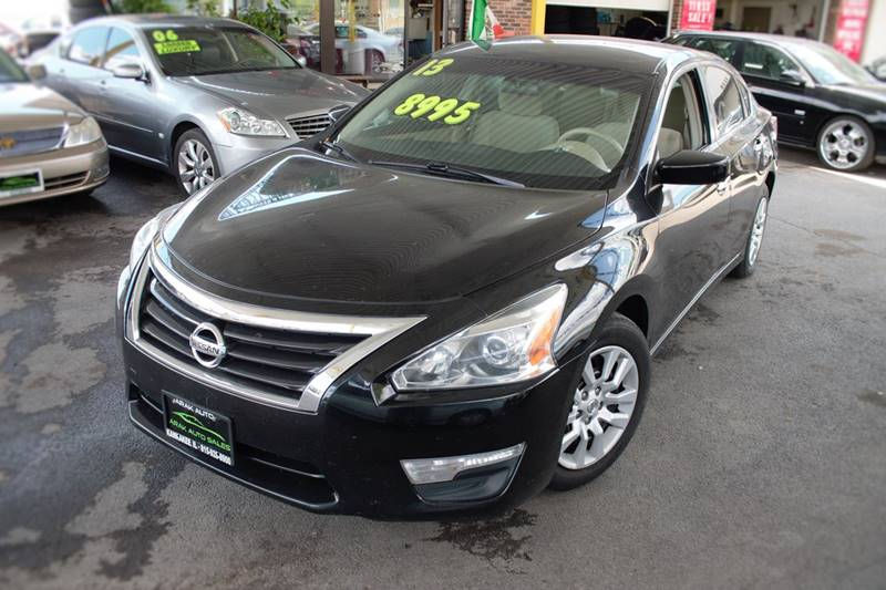 2013 Nissan Altima for sale at Arak Auto Group in Kankakee IL