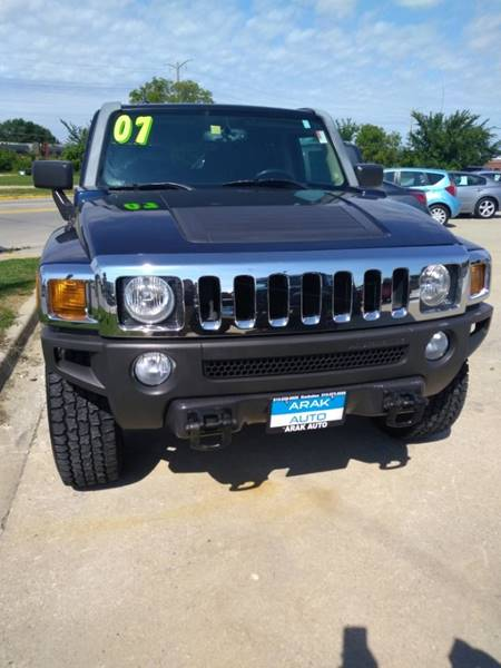 2007 HUMMER H3 for sale at Arak Auto Brokers in Kankakee IL