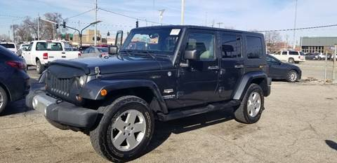 2010 Jeep Wrangler Unlimited Sahara for sale at Dragon Auto Sales in Dayton OH