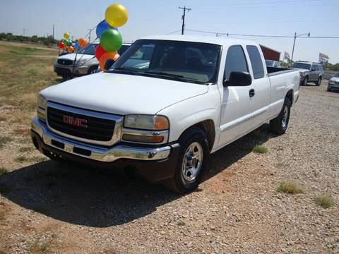 2004 GMC Sierra 1500 for sale at Advantage Auto Sales in Wichita Falls TX